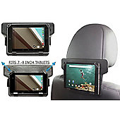 """Navitech In-Car Back Seat Leather Headrest Mount For The All-New Fire HD 8 Tablet with Alexa, 8"""" HD Display, 32 GB"""