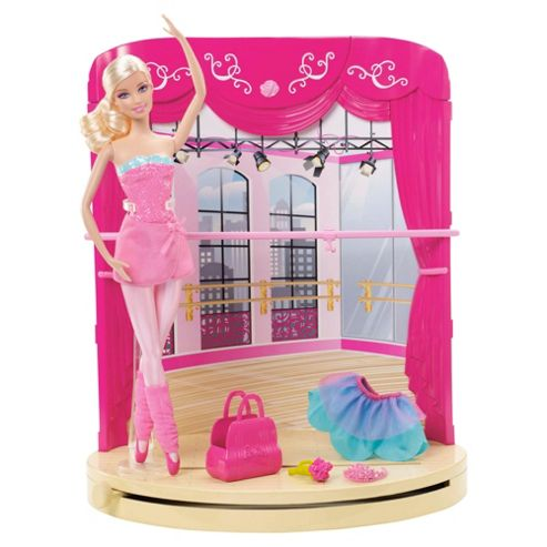 Barbie in the Pink Shoes Ballet Studio & Stage Playset