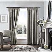 Curtina Ashford Pencil Pleat Curtains - Silver