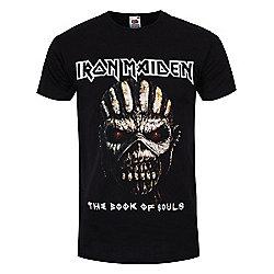 Iron Maiden Book of Souls Men's T-shirt, Black. - Black