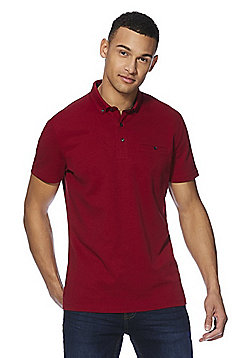 F&F Signature Mercerised Polo Shirt - Red
