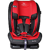 KinderKraft Gravity Car Seat 1-2-3 - Red