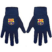 FC Barcelona Knitted Gloves
