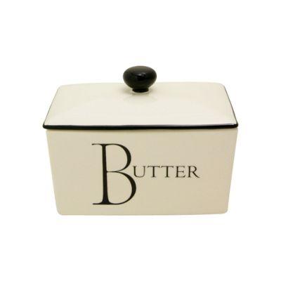 Fairmont & Main Script 500g Butter/Spread Dish
