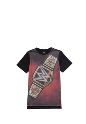 WWE Champion Belt Print T-Shirt Multi 5-6 years