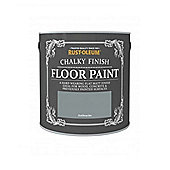 Rust-Oleum Chalk Chalky Floor Paint - Anthracite - 2.5L