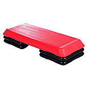 Homcom Aerobic Stepper 3 Level Step Fitness Yoga Training Workout Block Board