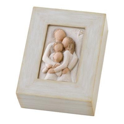 Enesco Willow Tree Family Memory Box Ornament
