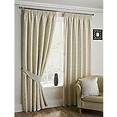 Orbital - Ivory - Pencil Pleat Curtains - Ivory