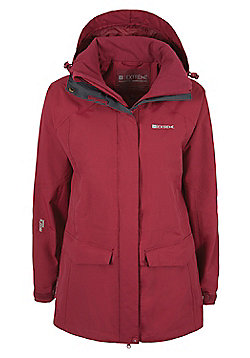 Women's Glacier Extreme Waterproof Jacket - Red