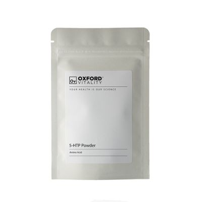 Oxford Vitality - 5-HTP Powder 99.5% 10g for Depression, Anxiety and Insomnia