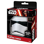 Star Wars Storm Trooper Helmet box and Playing Cards