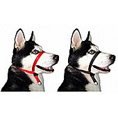 Beapher Gentle Leader Dog Headcollar Red (M)