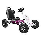 Air Runner Go Kart - Pink & White