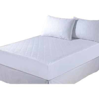 Quilted Pillow Protector Pair Non Allergenic