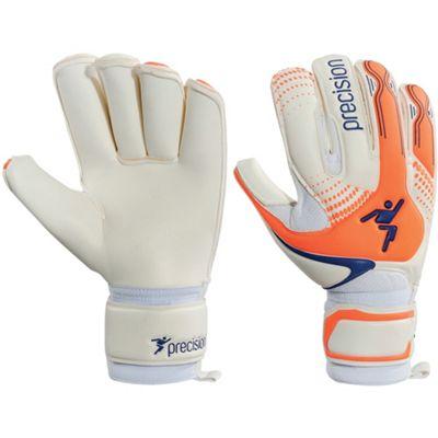 Precision Gk Fusion-X Rollfinger Junior Goalkeeper Gloves Size 4