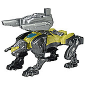 Power Rangers Movie Sabertooth Tiger Battle Zord with Figure