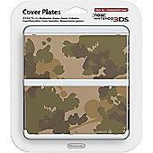 New 3ds Cover Plate - Camouflage