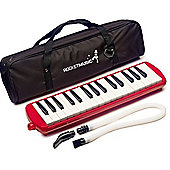 Rocket 32 Key Plastic Melodica - Red