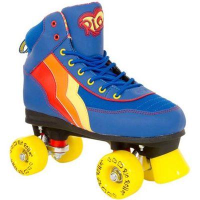 Rio Roller Quad Skates - Blueberry - Junior UK 12