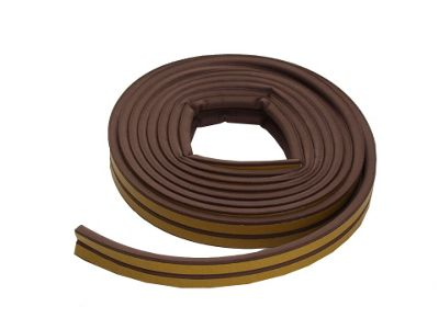 Mr Cosy Pr10B Epdm P Rubber Tape Brown 5M