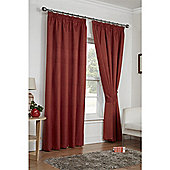 Hamilton McBride Luna Pencil Pleat Curtains - Grey