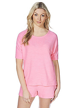F&F Soft-Touch Lounge Top - Pink