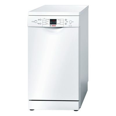 Bosch SPS53M02GB Slimline Dishwasher A+ Energy Rating with Residual Heat