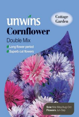 Cornflower Double Mixed
