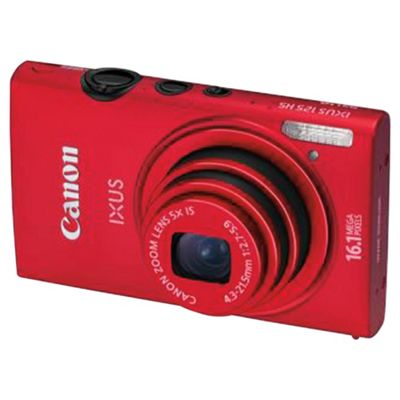 Canon Ixus 125 HS Red Digital Camera