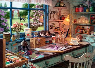 My Haven No1 - The Craft Shed Puzzle