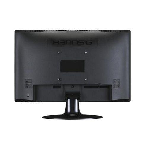 HannsG HL190APB 18.5 inch LCD Monitor Wide LED 1366 x 768 5ms multimedia Vesa mountable (Glossy Black)