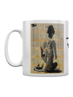 Loui Jover Path 10oz Ceramic Mug White
