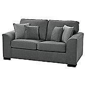 Vitorio Medium 2.5 Seater Sofa, Dark Grey
