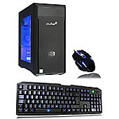Cube Mini Valor i3 Dual Core 8GB 1050TI Wireless High Spec Gaming Windows 10 PC