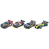 Disney Cars Carbon Racers Carbon Speed 4-Pack