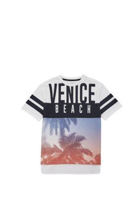 F&F Venice Beach Mesh T-Shirt Multi 5-6 years