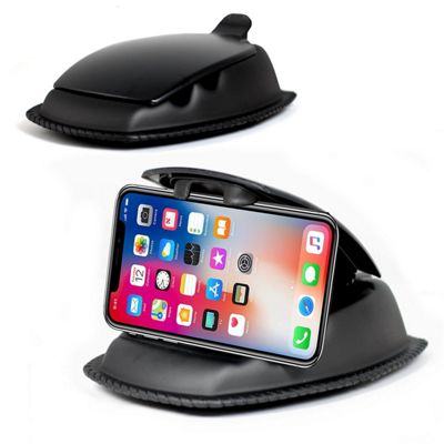 Navitech In Car Weighted Dashboard Friction Mount For the iPhone X