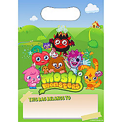 Moshi Monsters Party Plastic Party Bags (8pk)