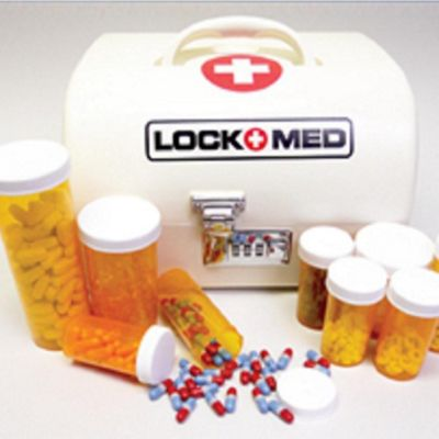LOCKMED Vanguard Home Medication Box