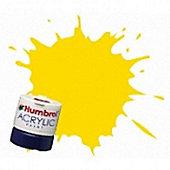 Humbrol Acrylic - 14ml - Gloss - No69 - Yellow