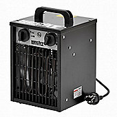 2kW Electric Portable Warm Air Heater with Thermostat – Hecht 3502