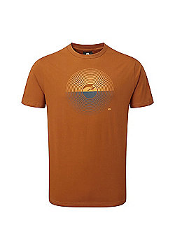 Mountain Equipment Mens Prism T-Shirt - Orange