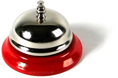 Tobar Metal Desktop Bell