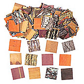 Terrific Tree Mosaics Card Mosaic Tiles in 8 Assorted Designs Creative Set for Kids' Arts & Crafts Projects Displays and Decorations (Pack of 2500)