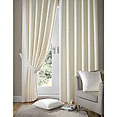Alan Symonds Madison Pencil Pleat Curtains - Cream