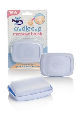 Pourty Cradle Cap Massage Brush
