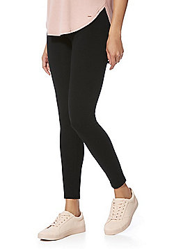 F&F High Rise Leggings - Black