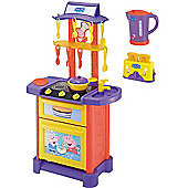 Peppa Pig Kitchen Playset With Kettle & Toaster