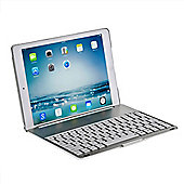 iPad Air Clamshell Bluetooth Keyboard Case in Silver